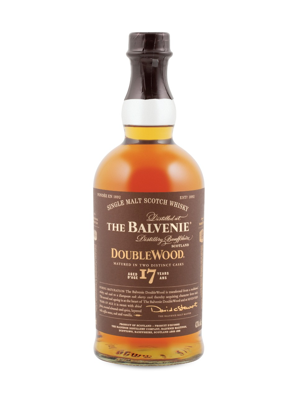 Image for The Balvenie DoubleWood 17 Year Old Single Malt Scotch Whisky from LCBO