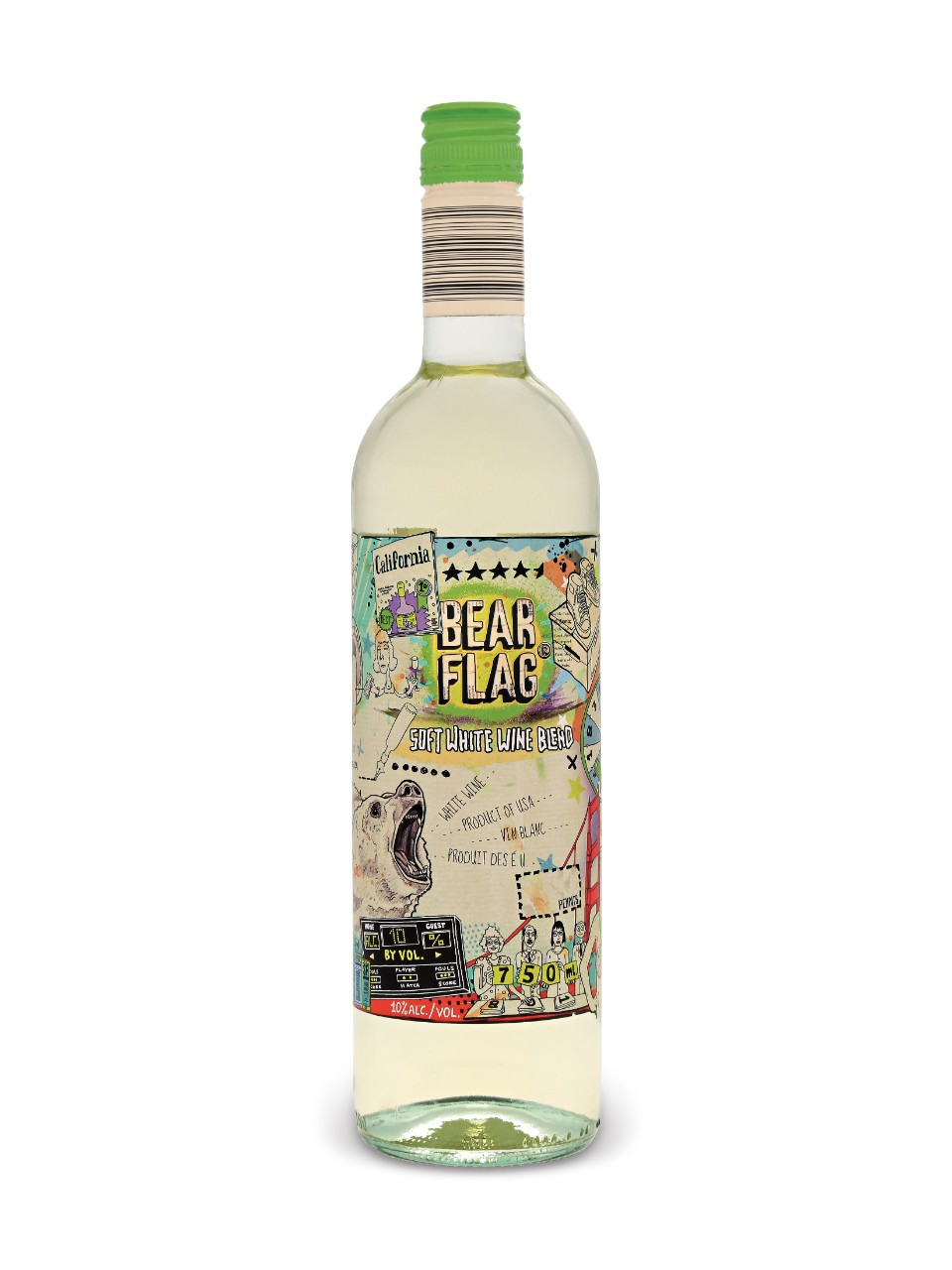 Image for Bear Flag Soft White Blend from LCBO