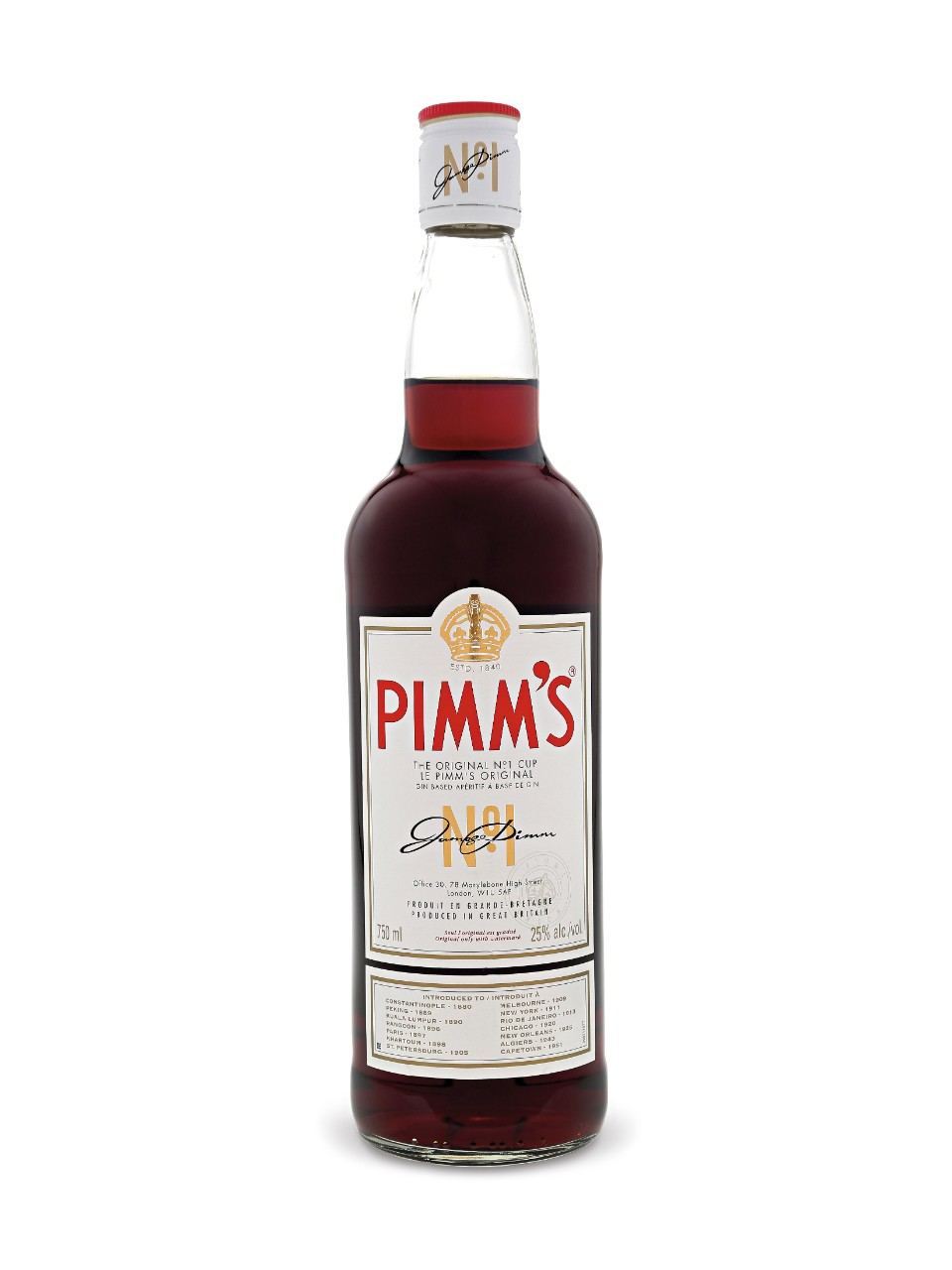 The Pimm's Royale Recipe — Dishmaps
