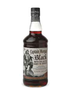 Rhum épicé Captain Morgan Black