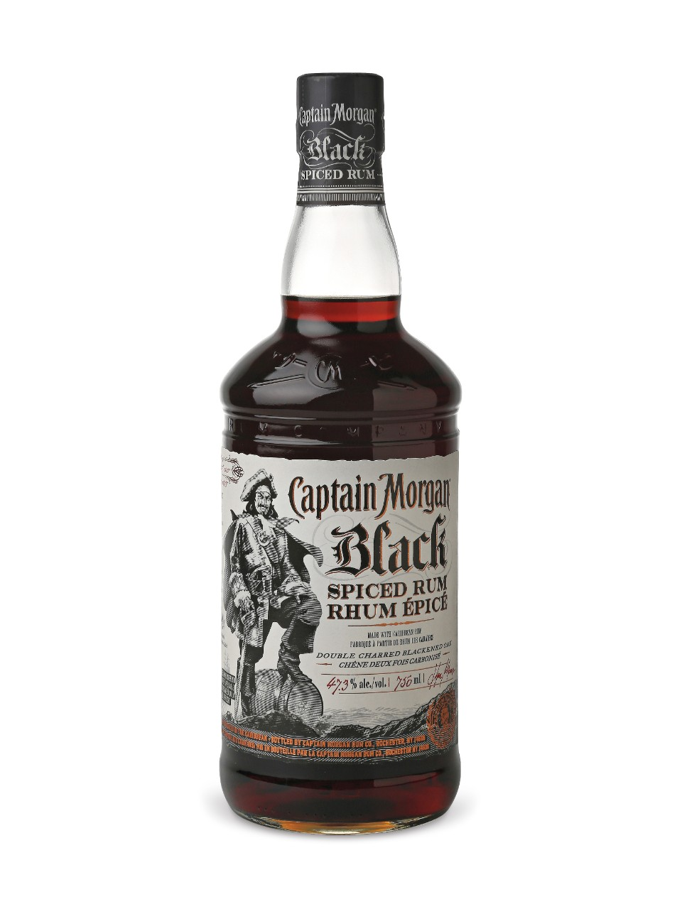 Image for Captain Morgan Black Spiced Rum from LCBO