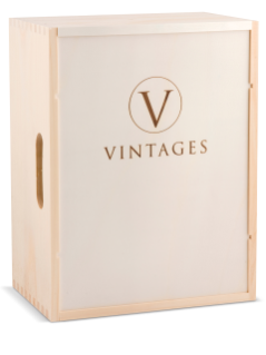 Vintages Wooden Box -- 6-Bottle