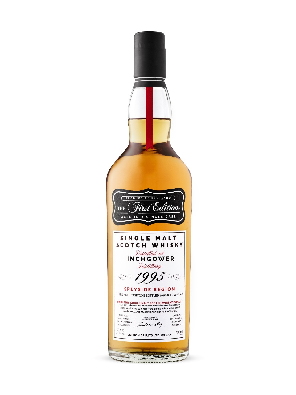 First Edition Inchgower Sherry 20 Year Old Scotch