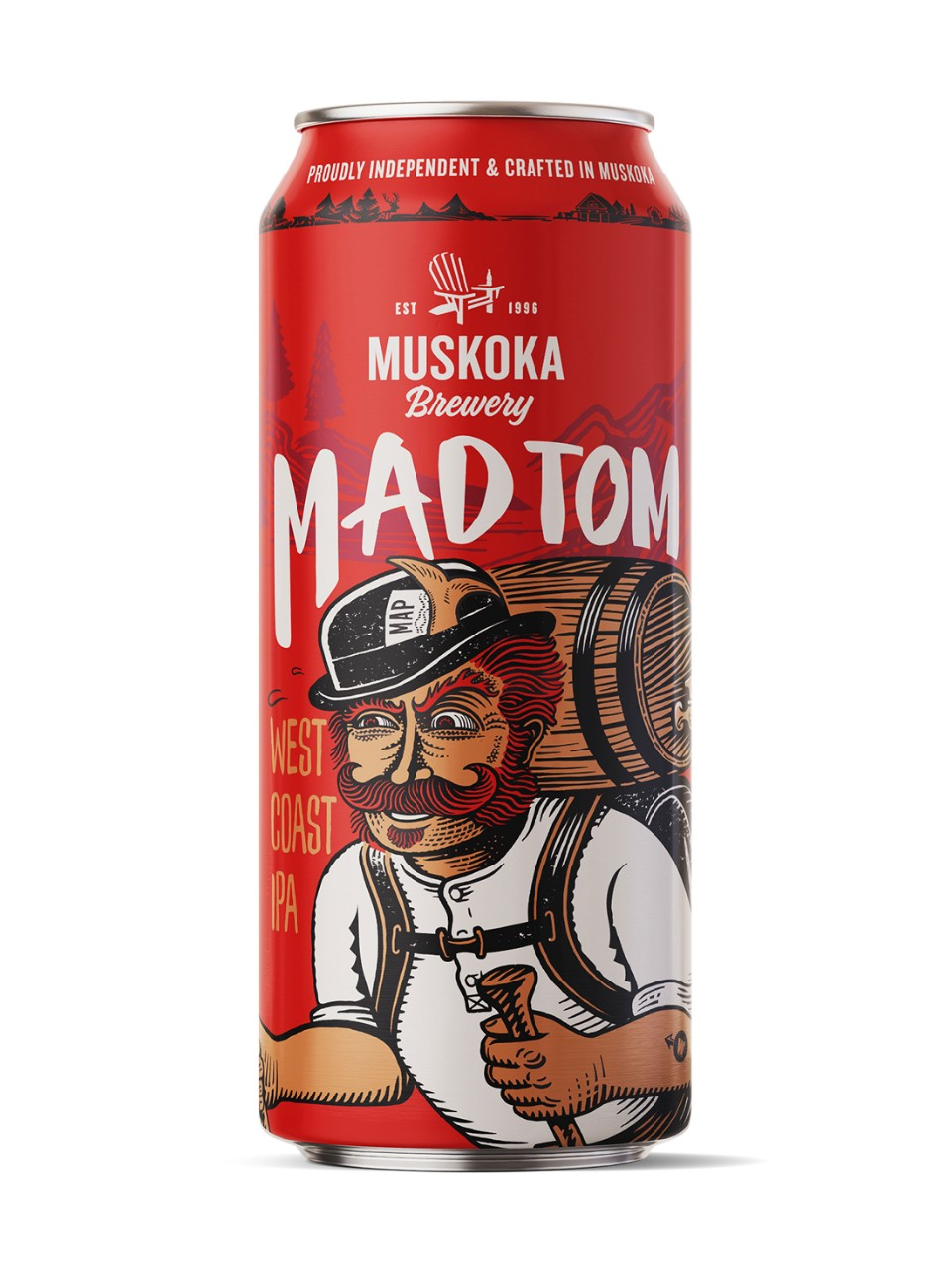Image for Muskoka Mad Tom IPA from LCBO