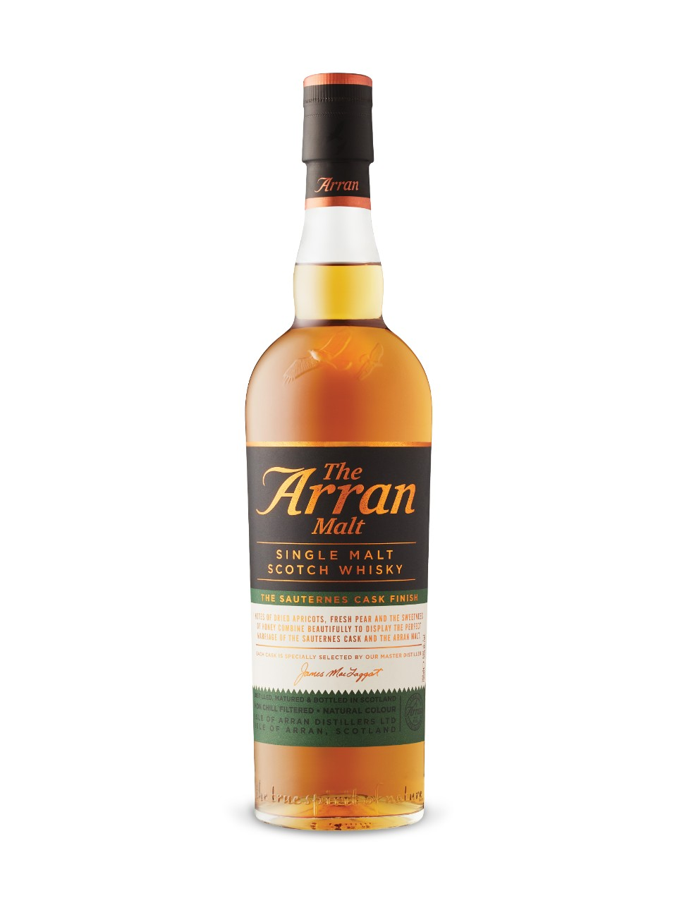 Image for The Arran Malt The Sauternes Cask Finish Single Malt Scotch Whisky from LCBO