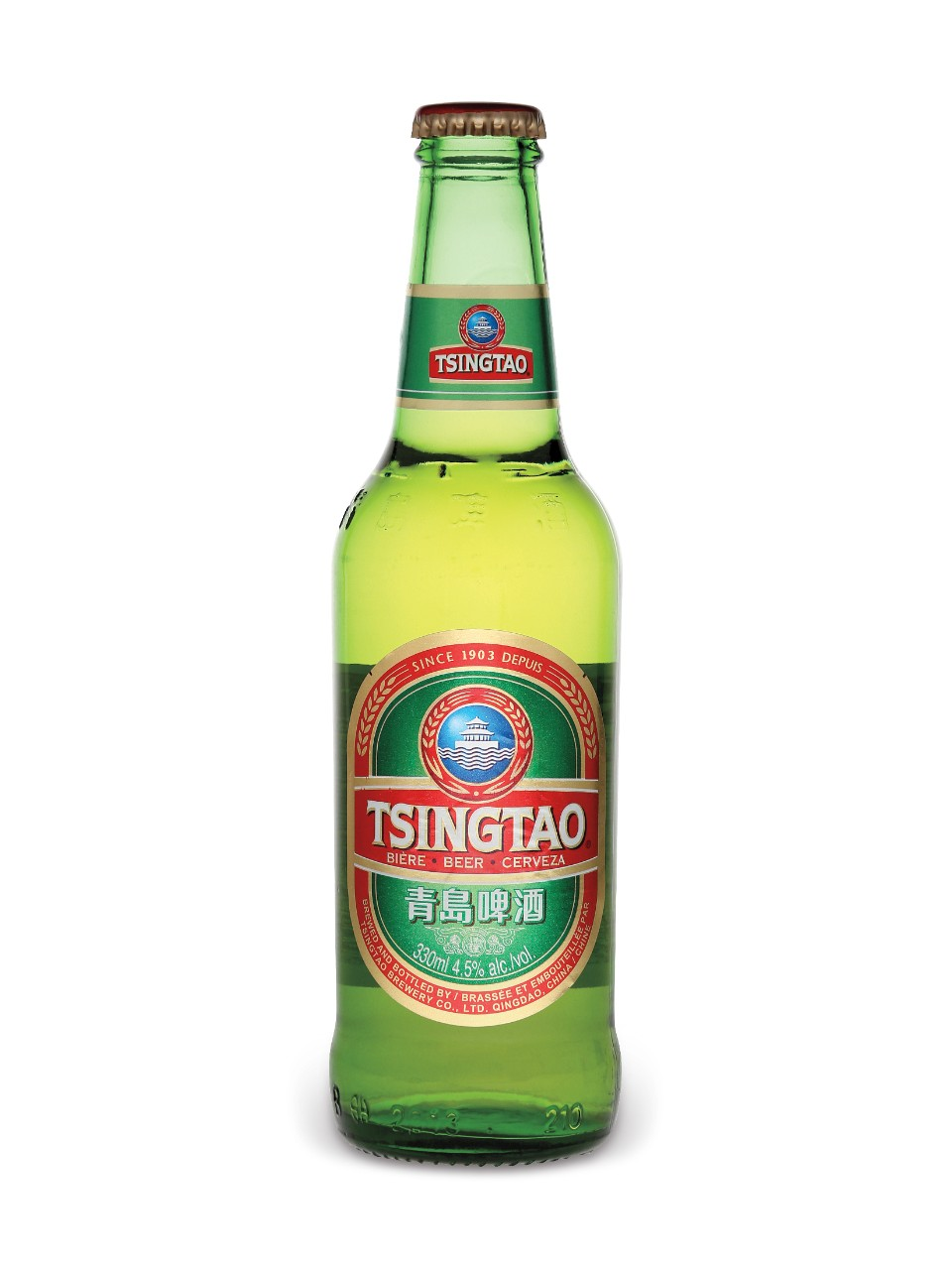 Image for Tsingtao Beer from LCBO