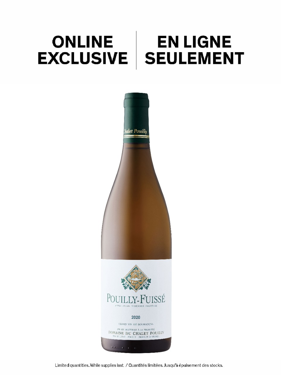 Image for Domaine du Chalet Pouilly Pouilly-Fuissé 2016 from LCBO