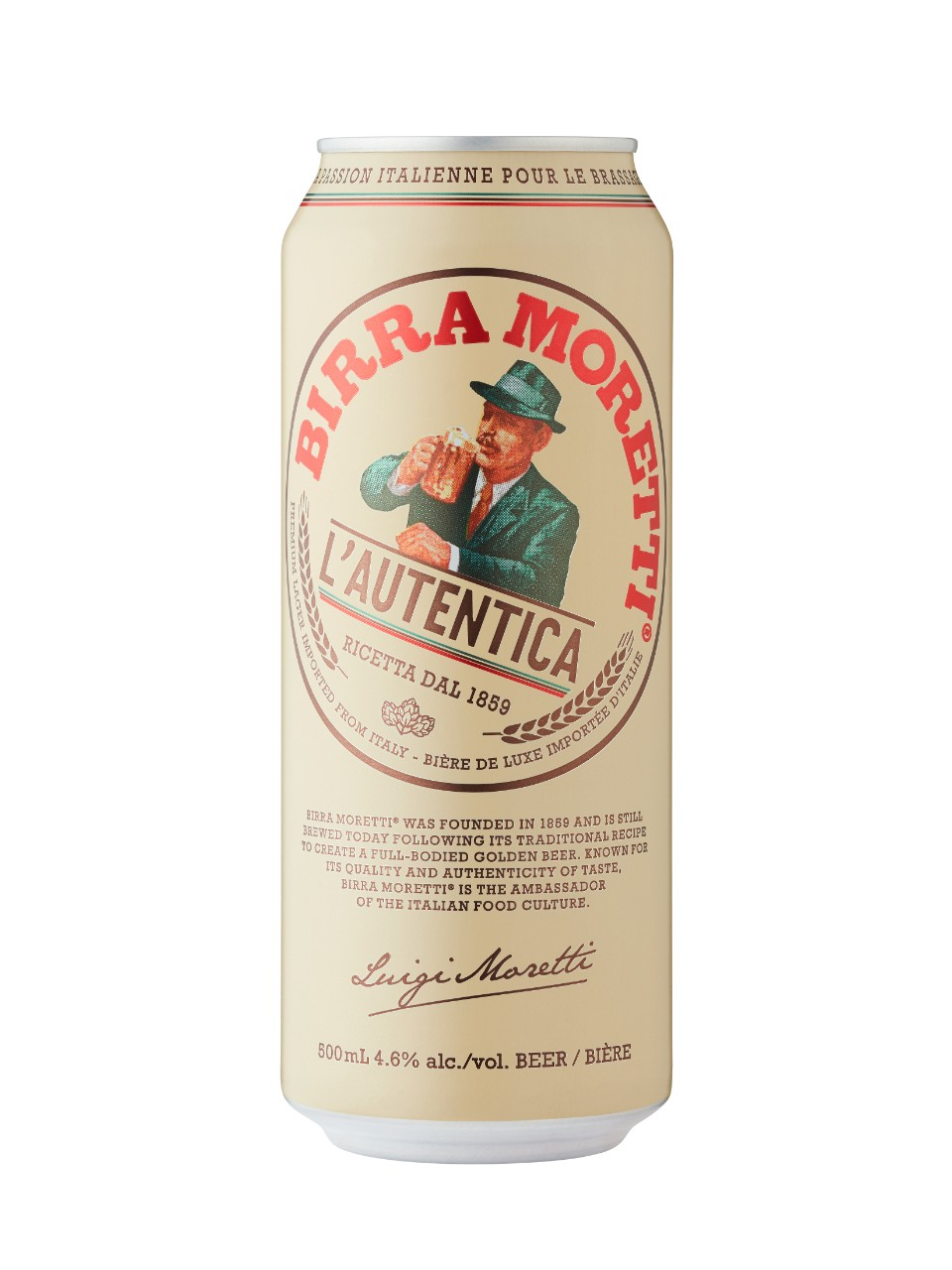 Image for Birra Moretti from LCBO