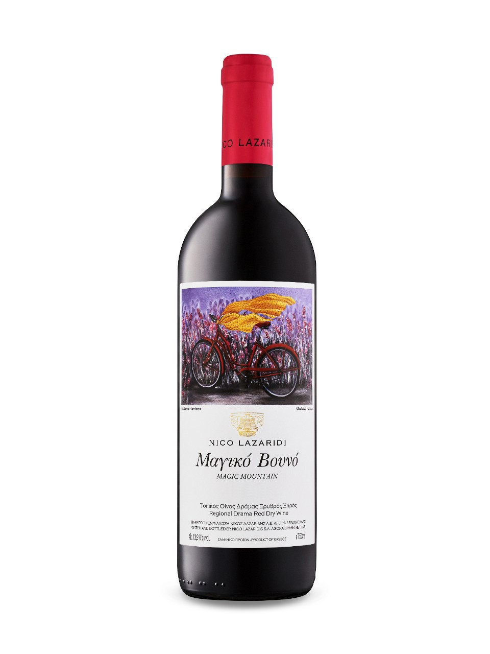 Image for Nico Lazaridi Magic Mountain Red 2006 from LCBO