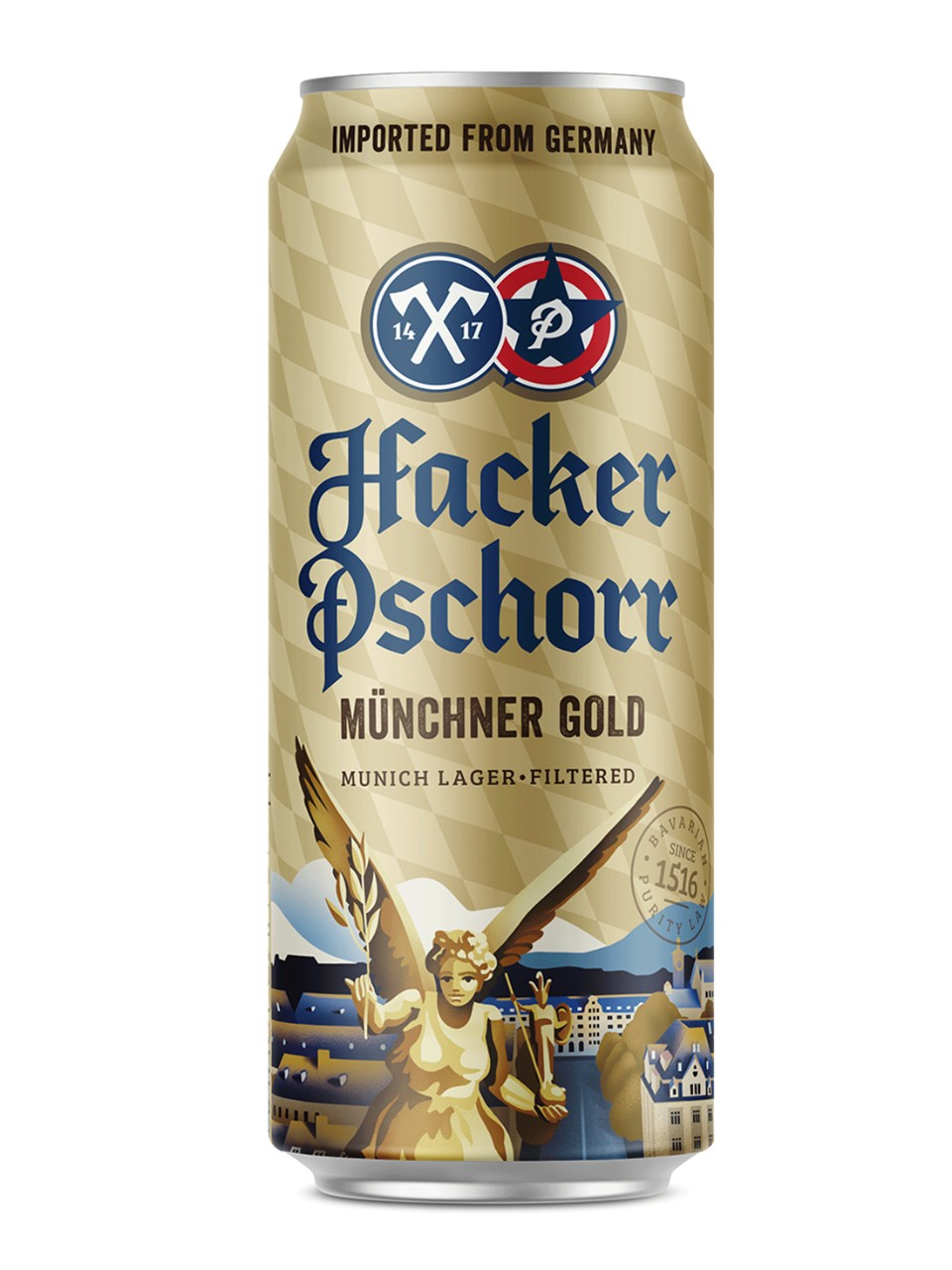 Image for Hacker Pschorr Munich Gold Lager from LCBO
