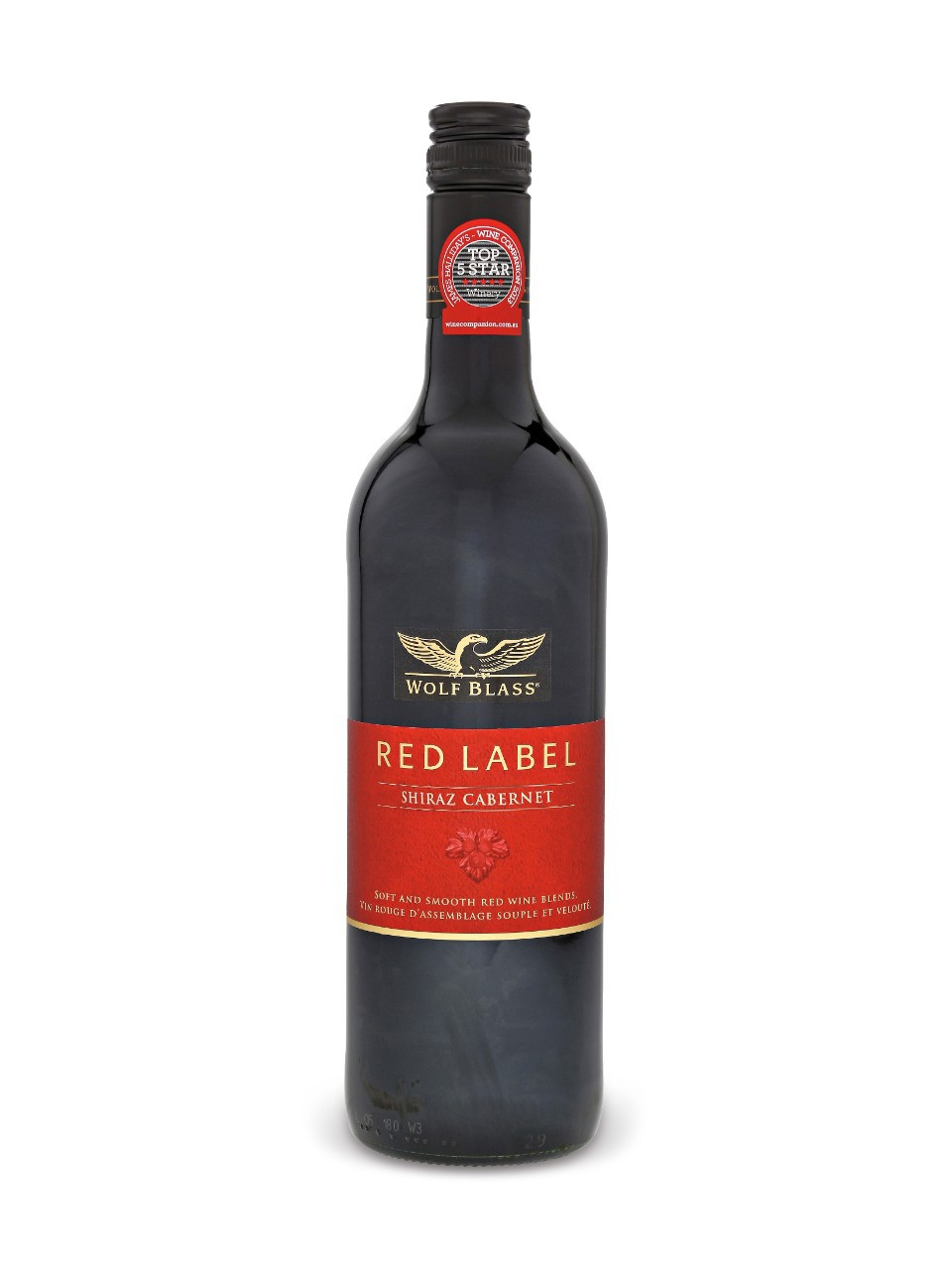 Image for Wolf Blass Red Label Shiraz Cabernet Sauvignon from LCBO