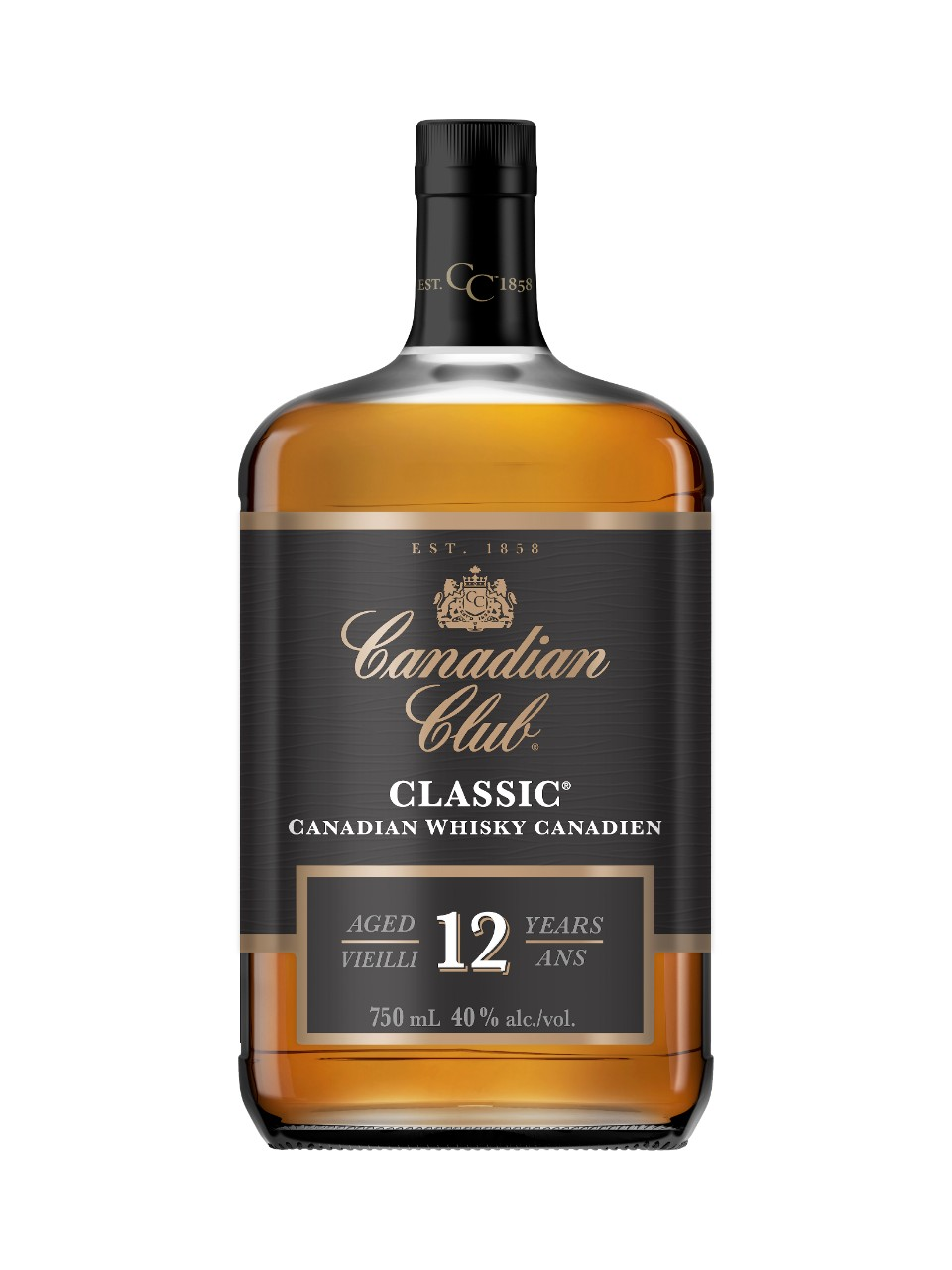 Whisky Canadian Club Classic 12 ans d'âge