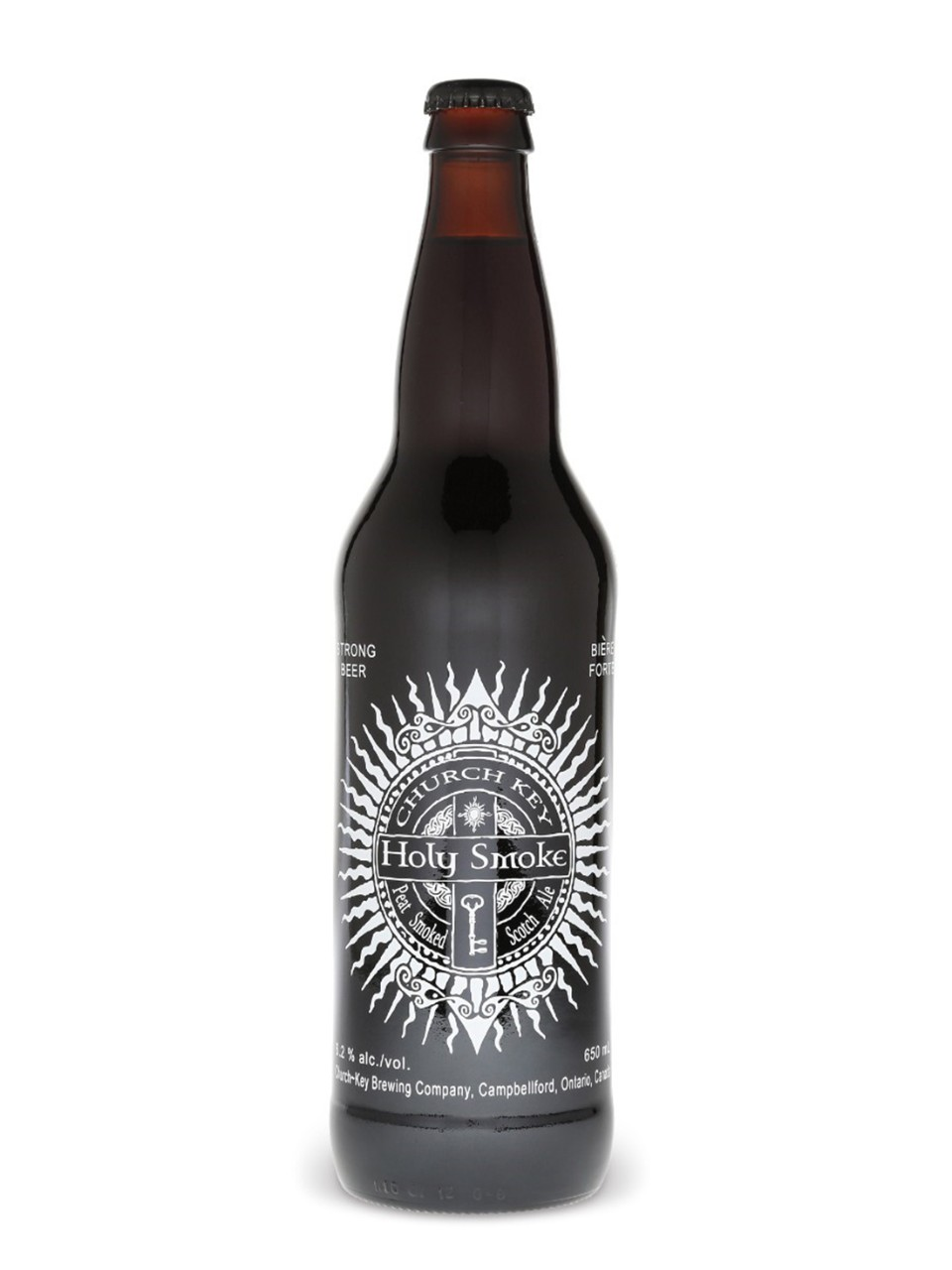 Church Key Holy Smoke Scotch Ale