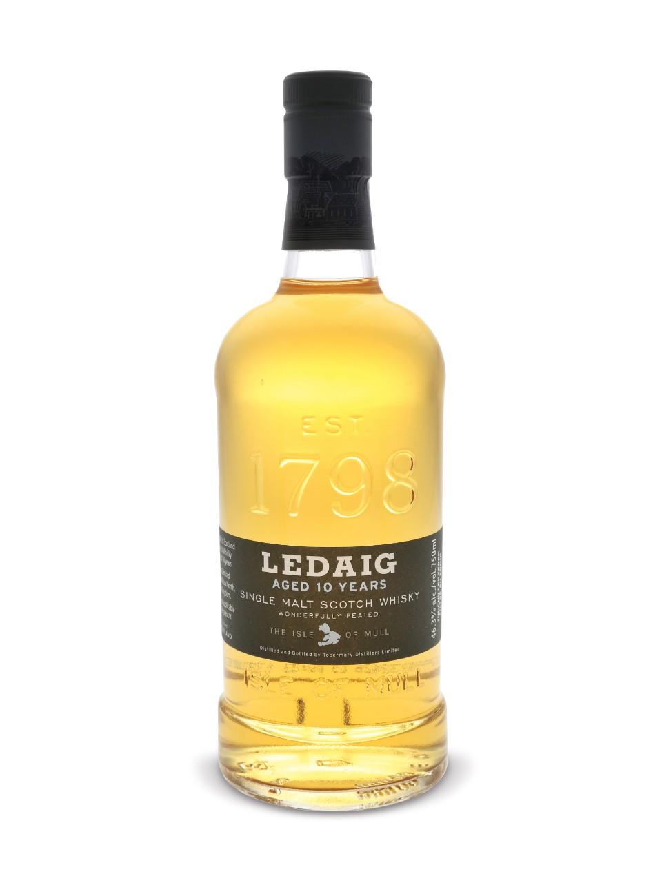 Ledaig Single Malt Scotch Whisky Isle of Mull Tobermory Distillery ...