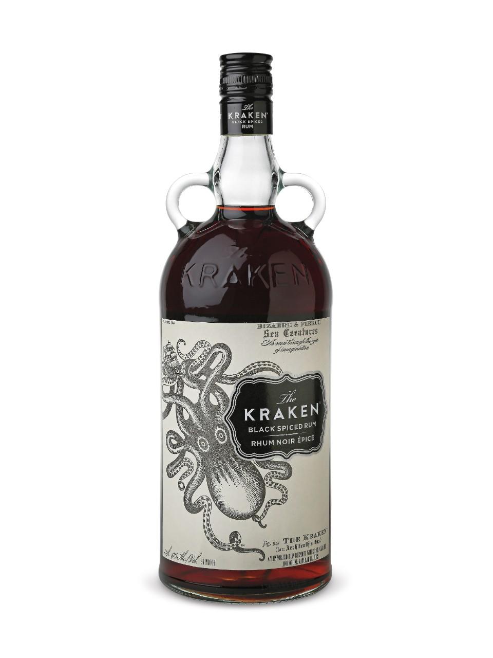 The Kraken Black Spiced Rum | LCBO