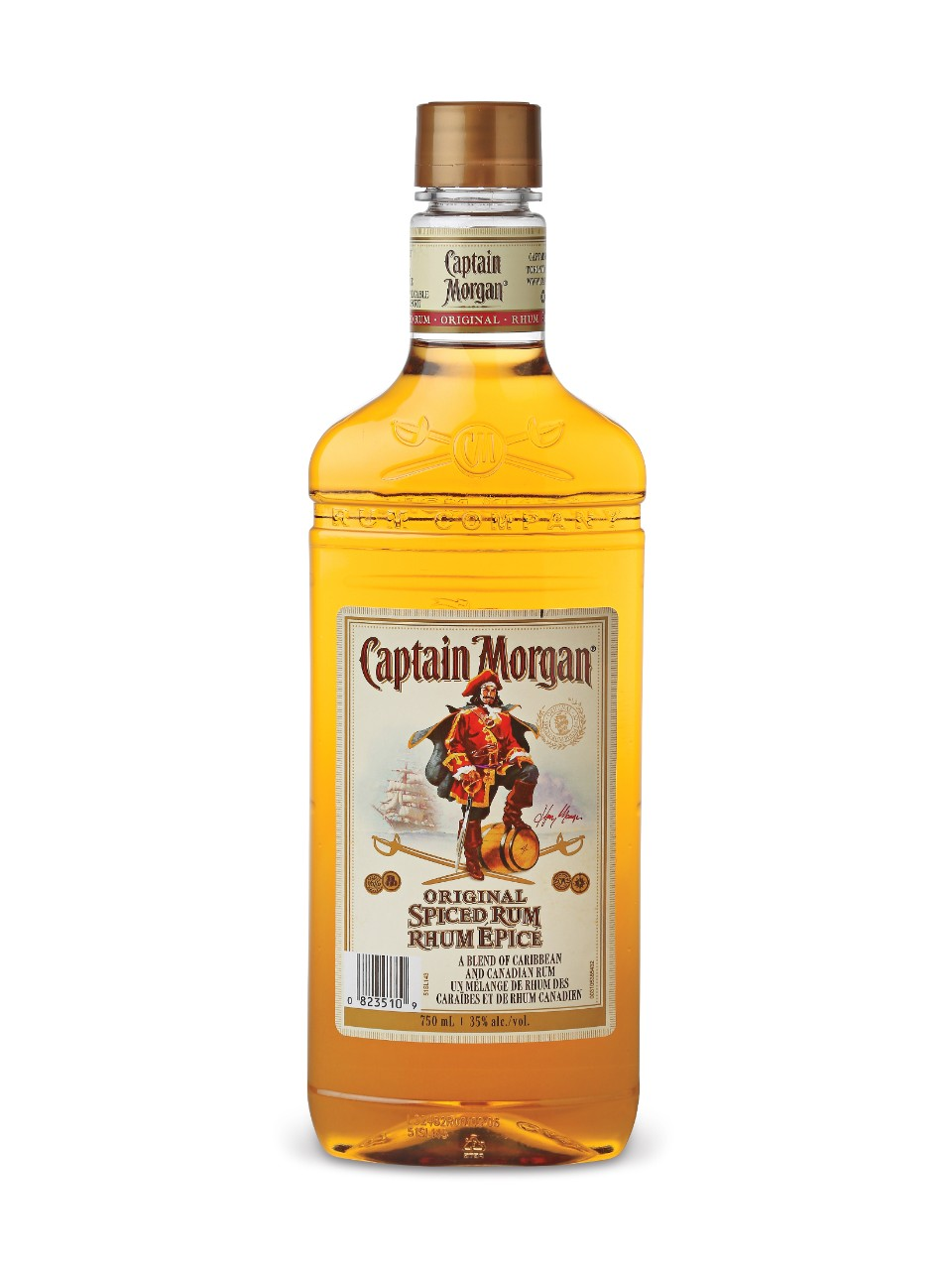 Image for Captain Morgan Original Spiced Rum (PET) from LCBO