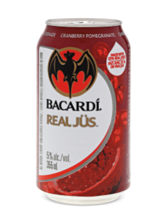 Bacardi Cranberry Pomegranate JUS