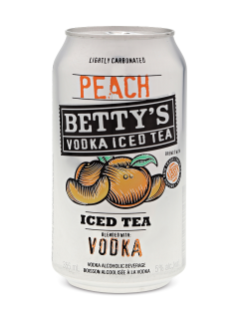Betty's Peach Vodka Iced Tea 4 Pk-C