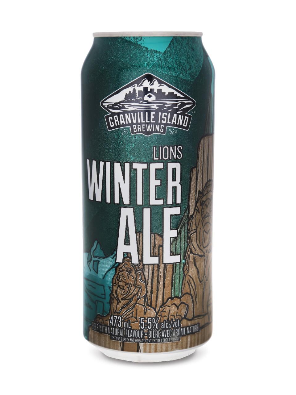 Granville Island Lions Winter Ale Lcbo