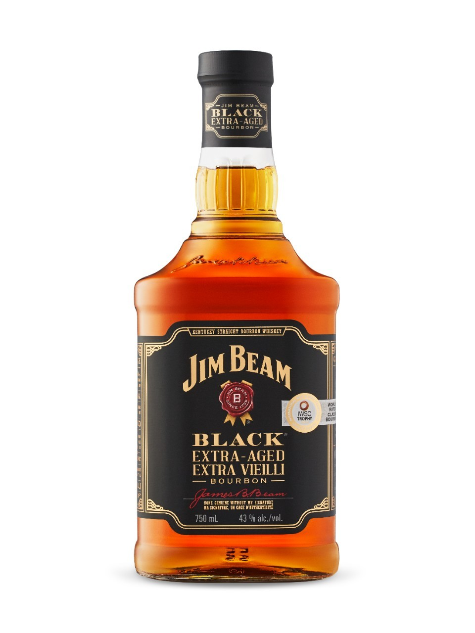 Image for Jim Beam Black Kentucky Bourbon 6 Year Old from LCBO