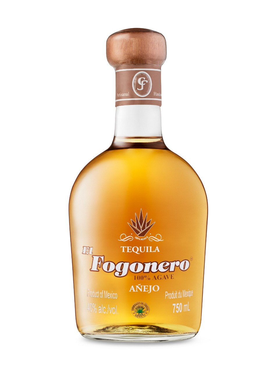 Image for El Fogonero Tequila Anejo from LCBO