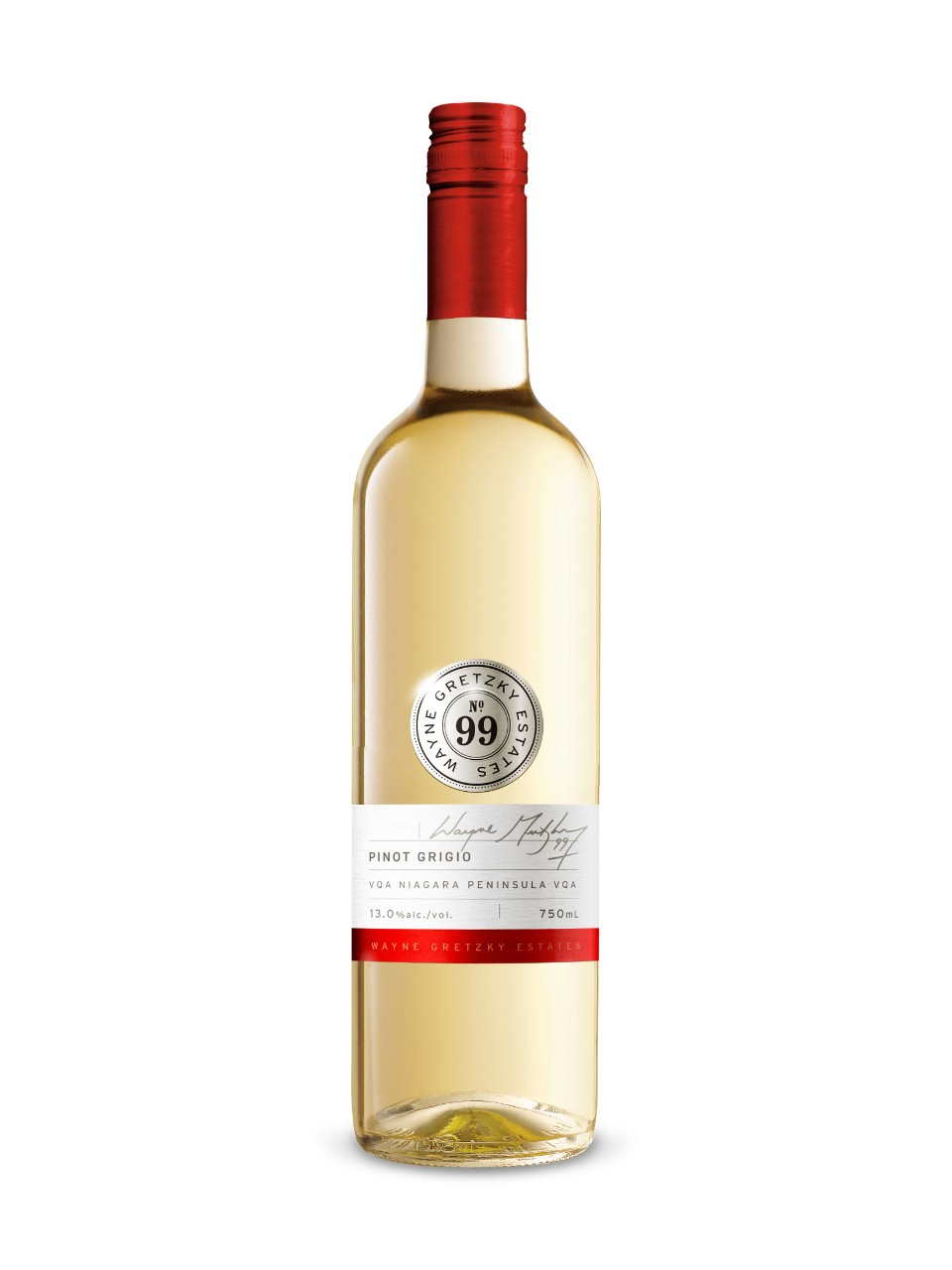 Image for Wayne Gretzky Pinot Grigio VQA from LCBO