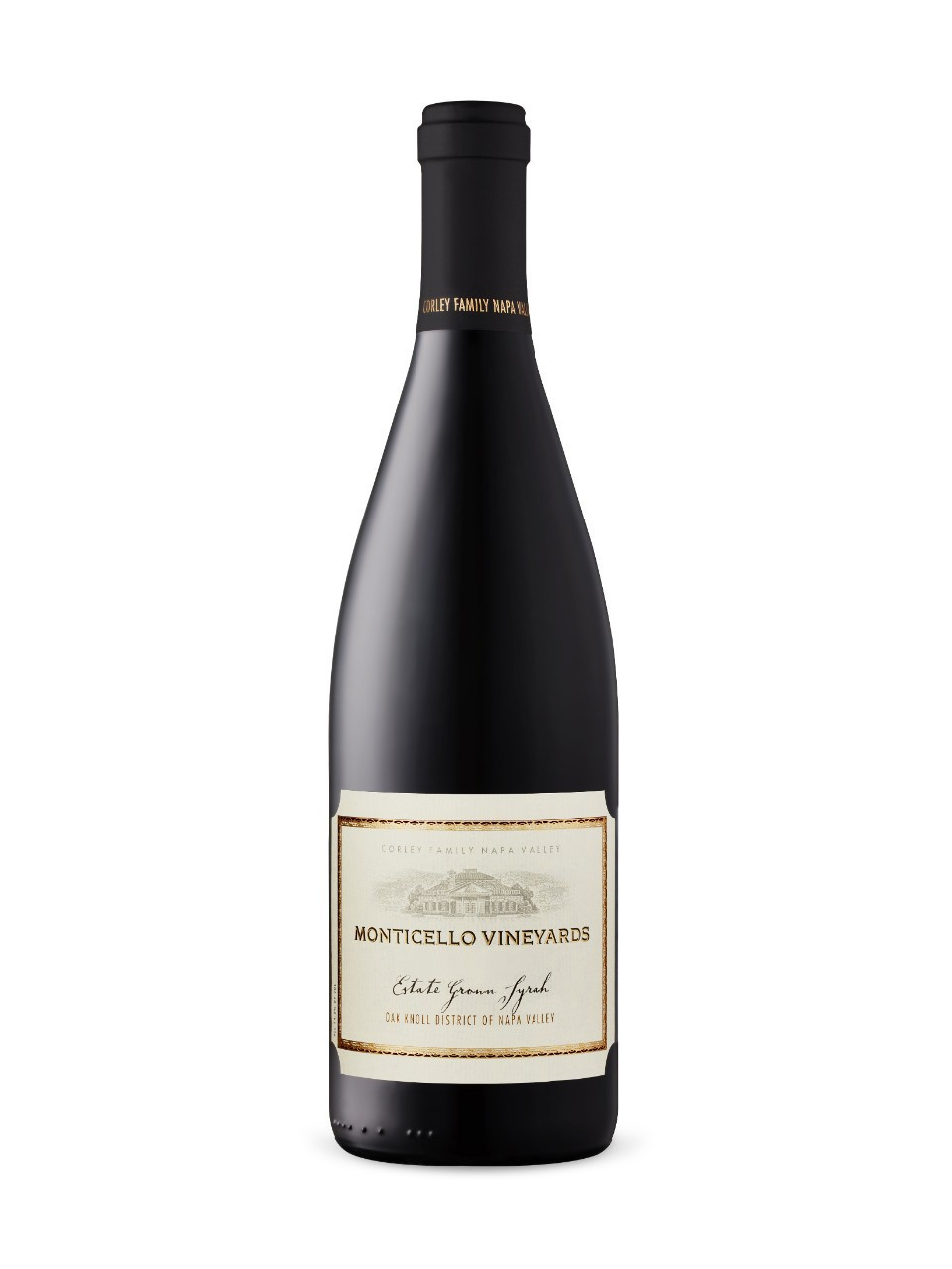 Image for Monticello Vineyards Estate Syrah 2013 from LCBO