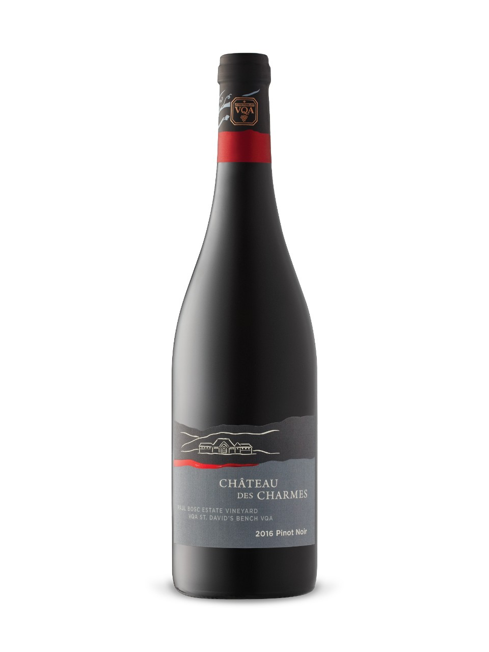 Image for Château des Charmes Paul Bosc Estate Vineyard Pinot Noir 2016 from LCBO