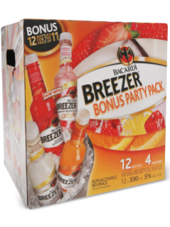 Bacardi Breezer Party 12 Pack