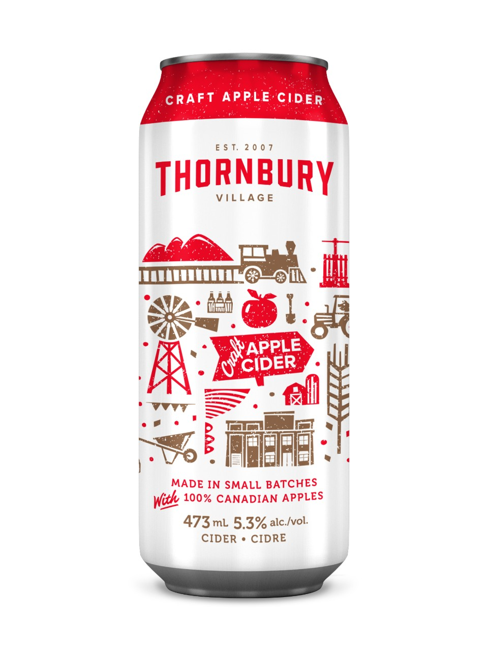 Image for Thornbury Village Craft Apple Cider from LCBO