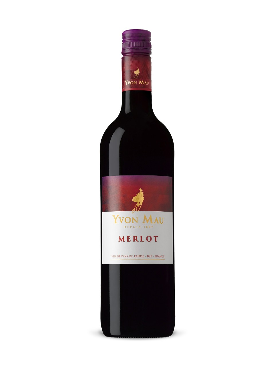 Image for Yvon Mau Merlot Pays d'Aude from LCBO