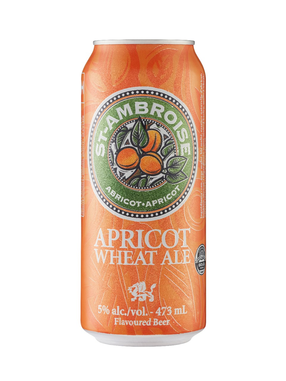 Image for St-Ambroise Apricot Wheat Ale from LCBO