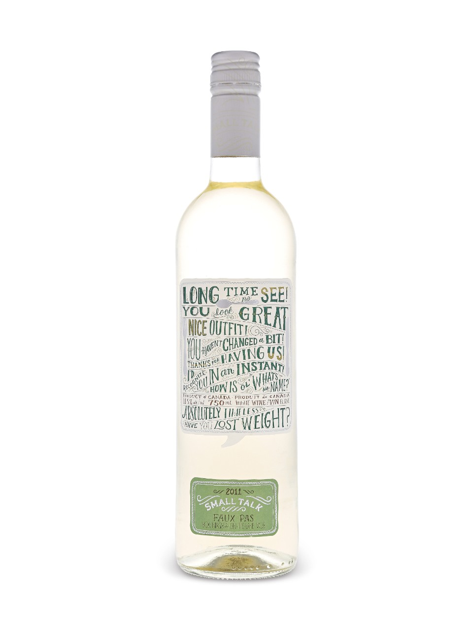Image for Small Talk Faux Pas Riesling Sauvignon Blanc VQA from LCBO