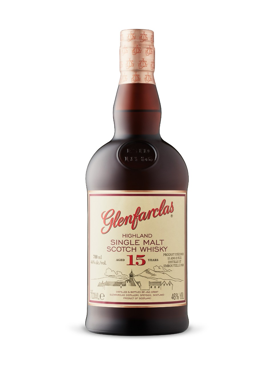 Glenfarclas 15-Year-Old Highland Single Malt Scotch Whisky