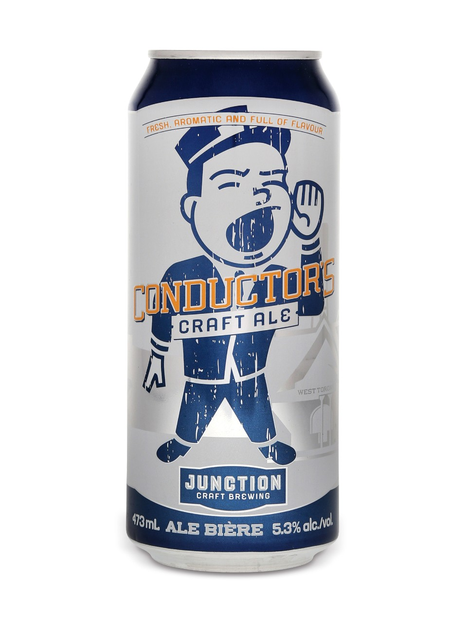 Image for Junction Craft Brewing Conductor's Craft Ale from LCBO
