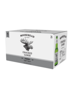 Moosehead Cracked Canoe