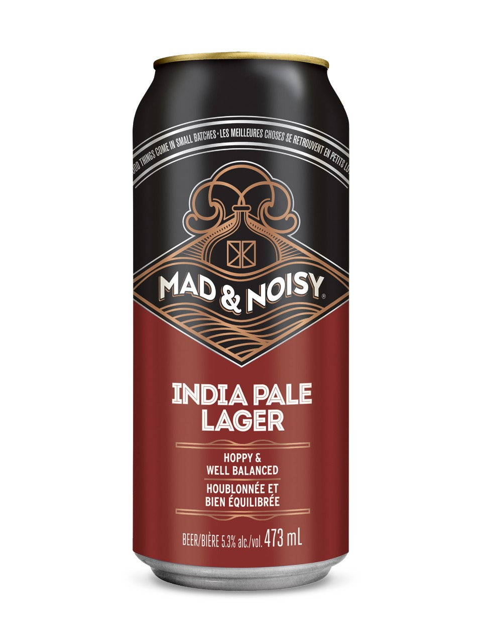 Mad & Noisy, Hops & Bolts India Pale Lager