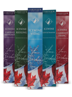 Lakeview Icewine 5-Bottle Gift Pack