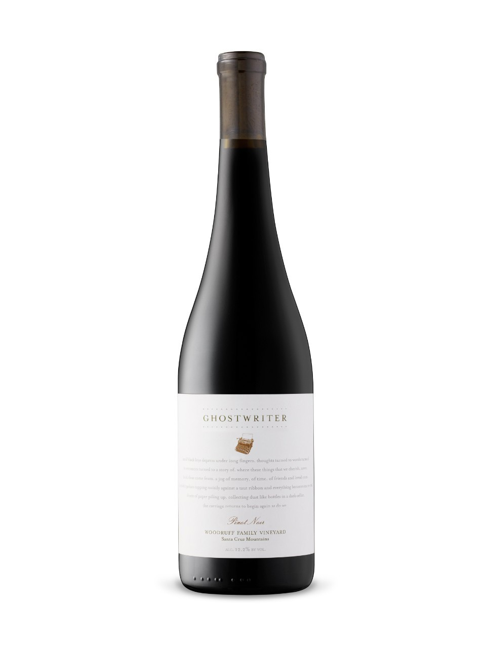 Image for Ghostwriter Woodruff Pinot Noir 2014 from LCBO