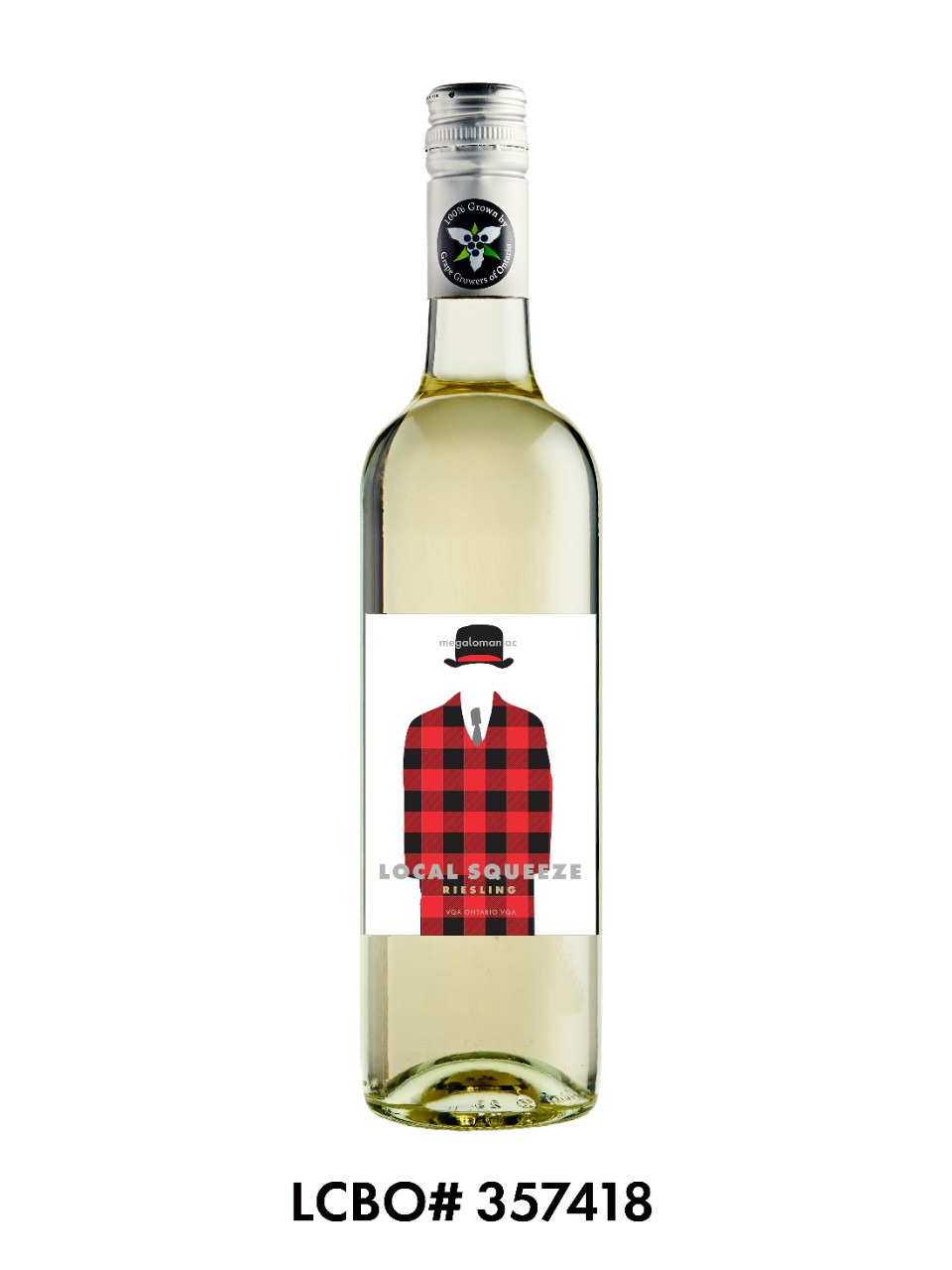 Image for Megalomaniac Local Squeeze White VQA from LCBO