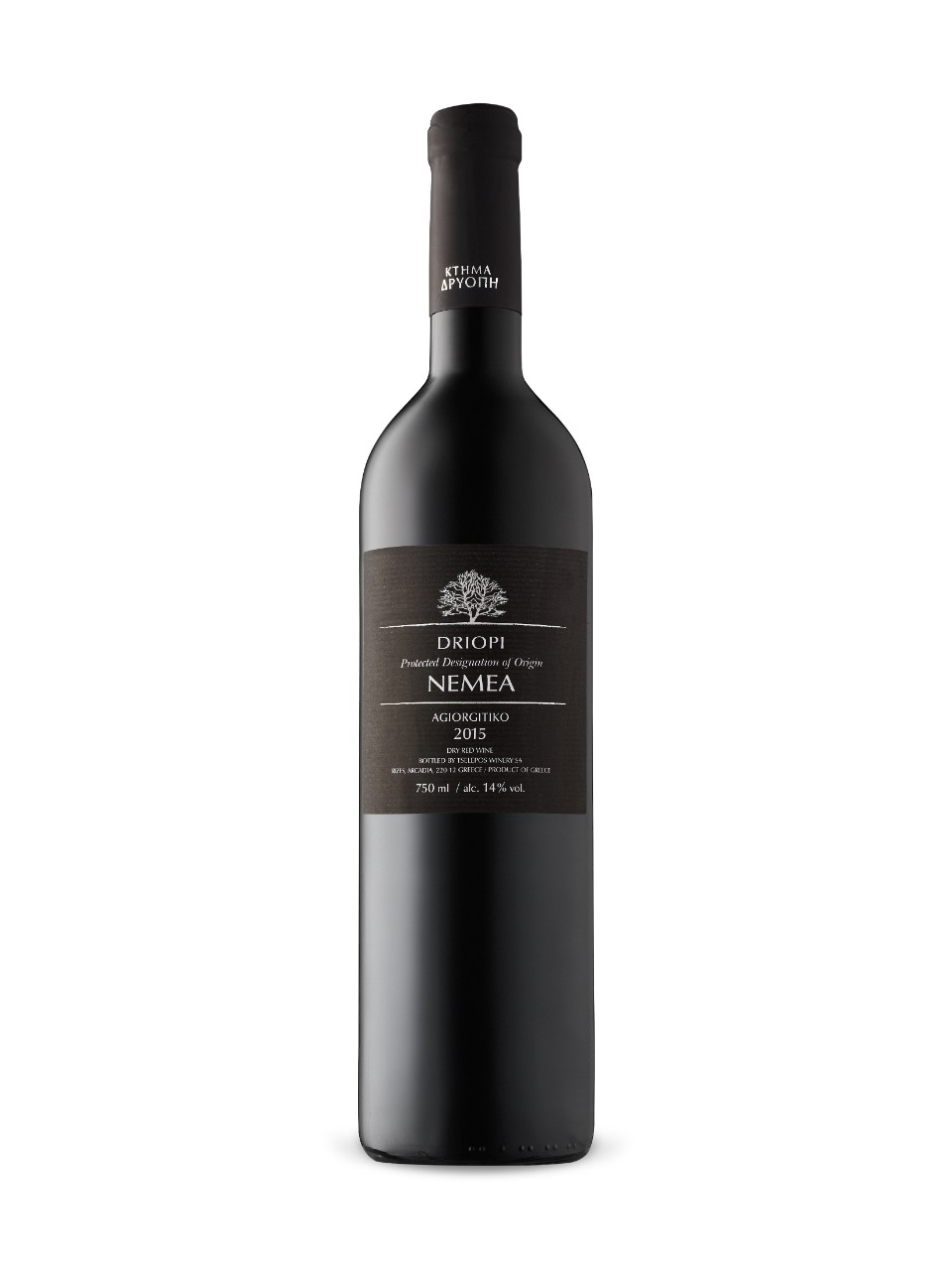 Image for Nemea Driopi Agiortiko 2015 from LCBO