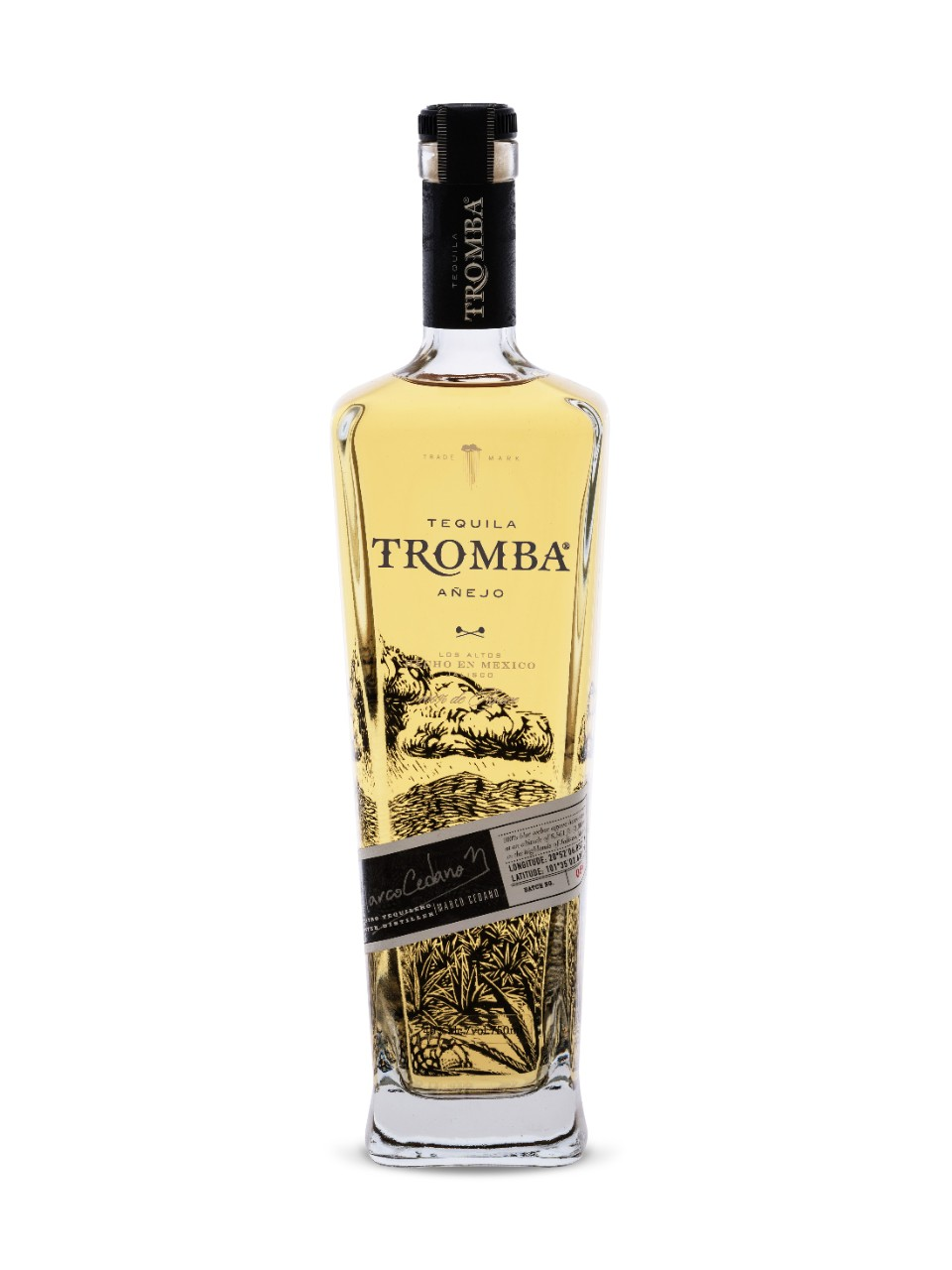 Image for Tequila Tromba Anejo from LCBO