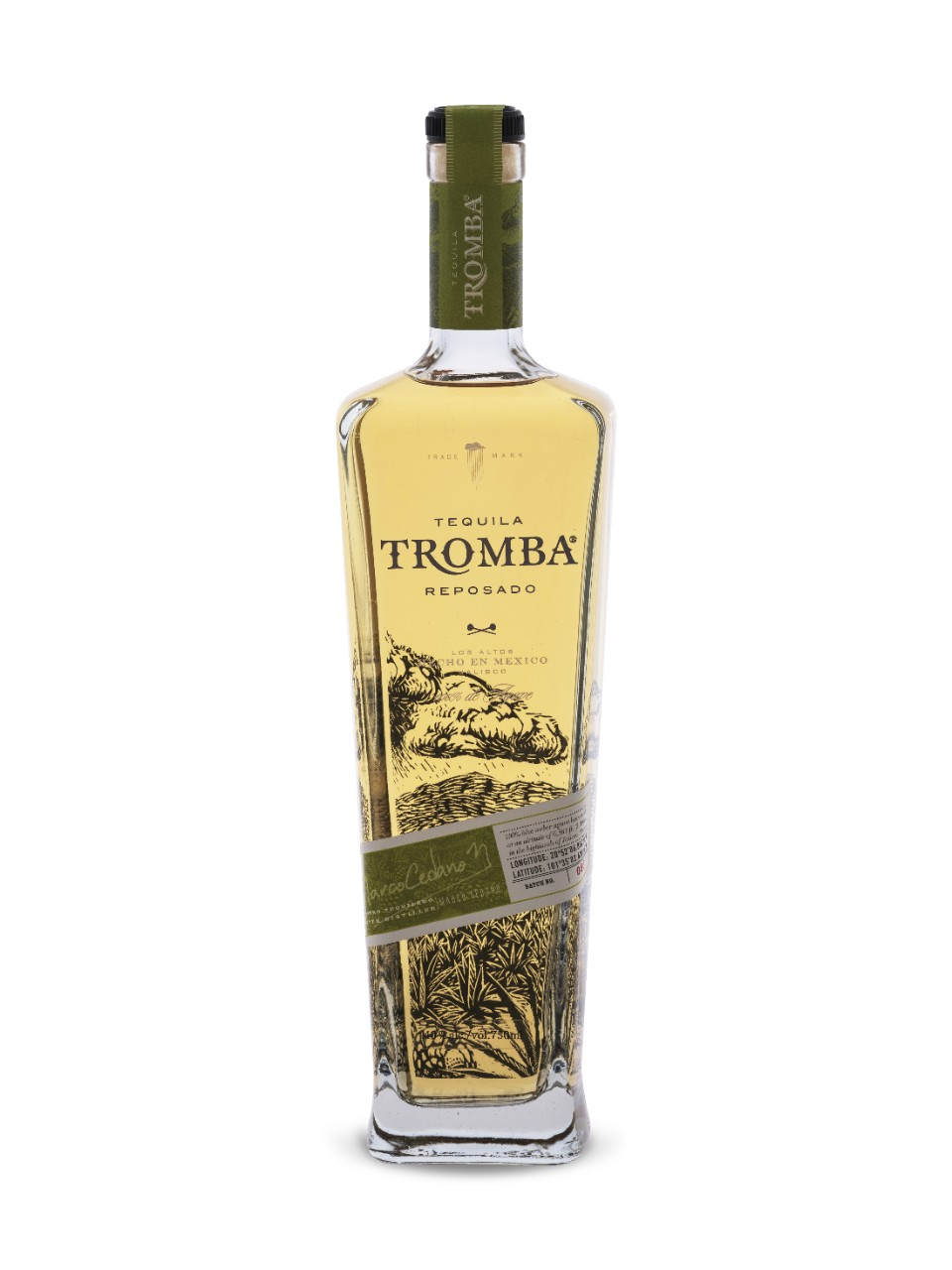 Image for Tequila Tromba Reposado from LCBO