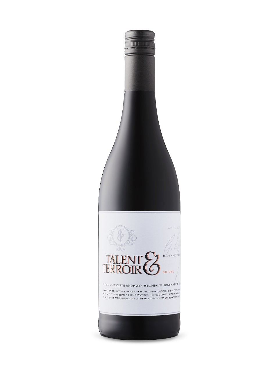 Shiraz Talent & Terroir Boland Cellar 2015