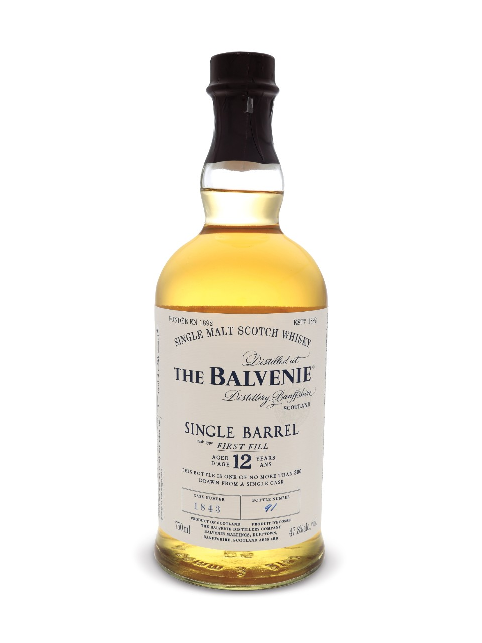 Image for The Balvenie 12 Year Old Single Barrel Scotch Whisky from LCBO
