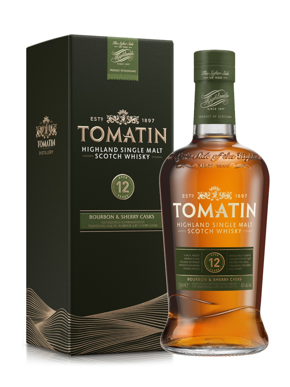 Image for Tomatin 12 Year Old Highland Single Malt Scotch Whisky from LCBO