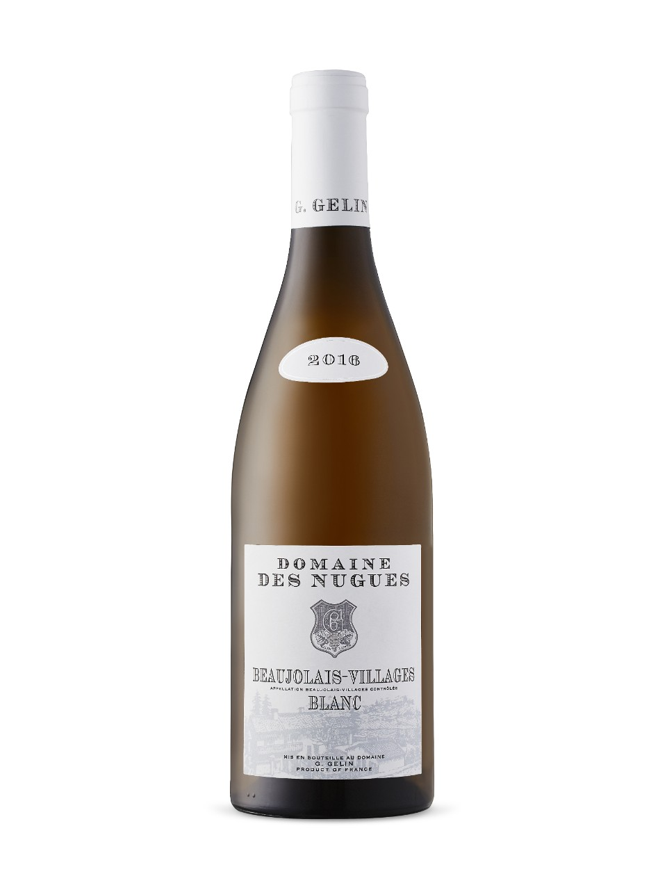 Image for Domaine Des Nugues Beaujolais Villages White 2016 from LCBO