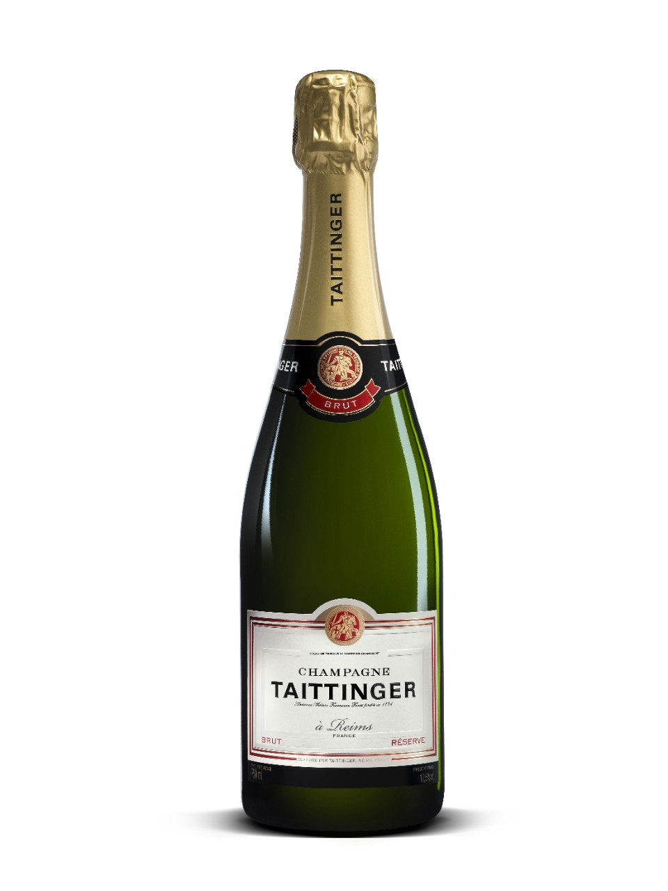Image for Taittinger Brut Réserve Champagne from LCBO