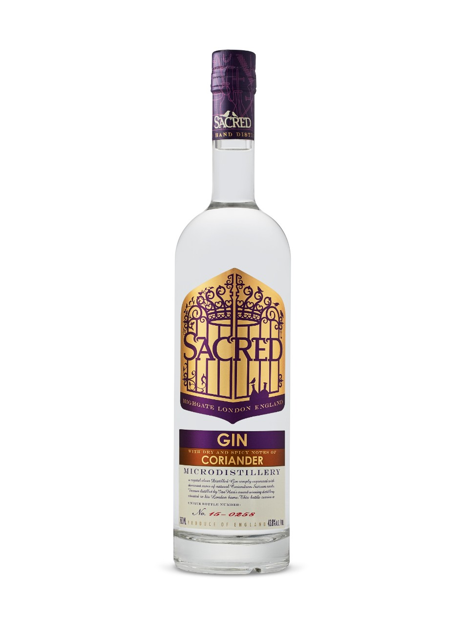 Image for Sacred Gin Coriander from LCBO