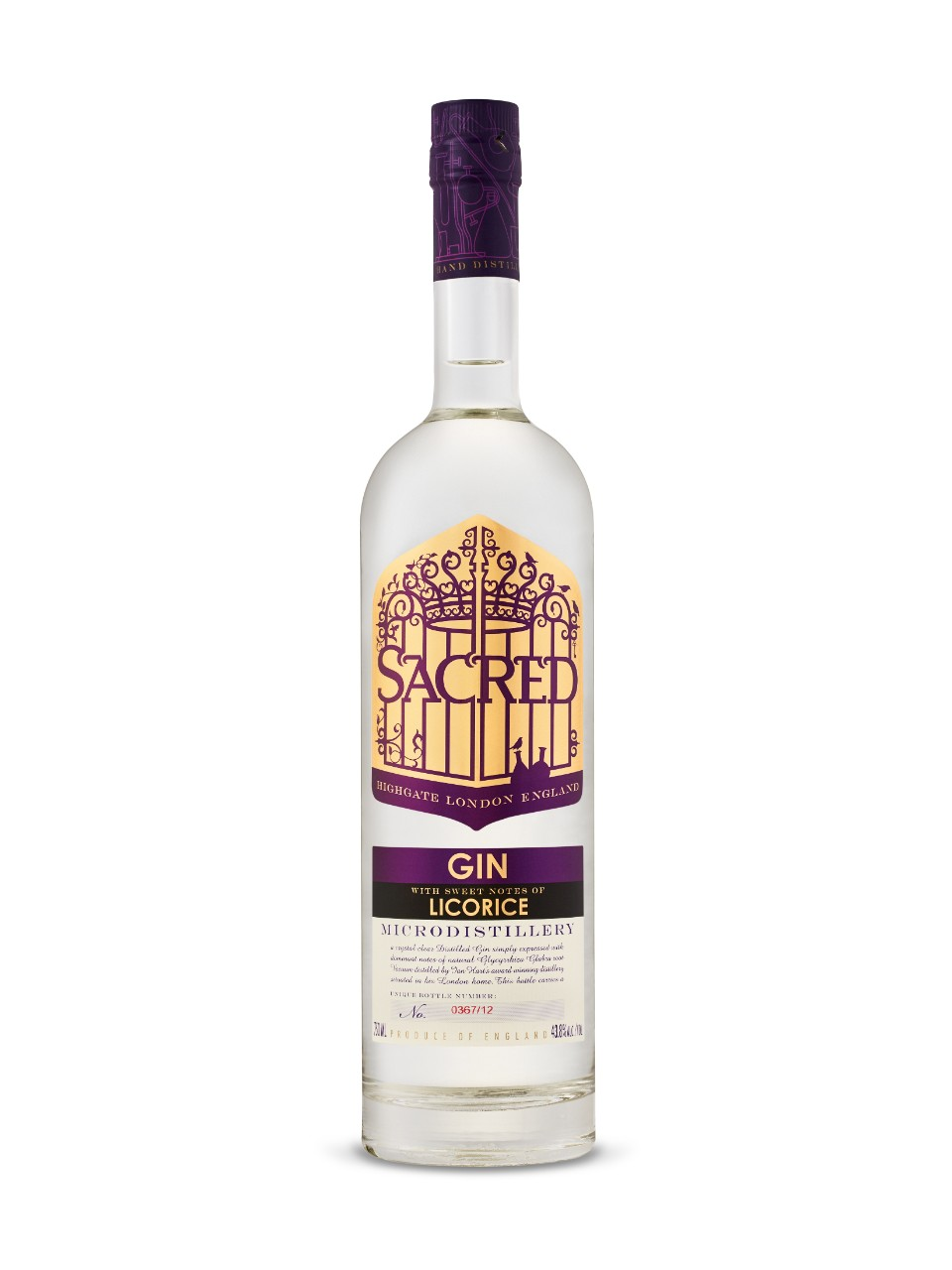 Gin Sacred Réglisse